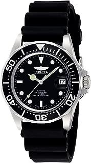 Invicta 9110 Pro Diver Reloj Análogo para Hombre, 40 mm, plata/negro