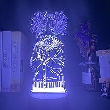 3D Illusion led Light My Hero Academia Toga Himiko Figure Led Night Lamp Kids Bedroom Decoration Nightlight by Night 3D Lamp