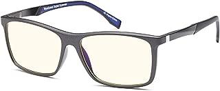 TRUST Blue Light Blocking Glasses for Men - Anti Eye Strain UV Glare of Digital Screens n Fluorescent Light - TV Video Gaming Computer Glasses