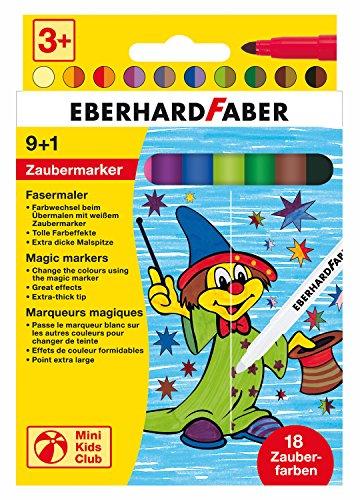 Unbekannt Eberhard Faber 551010 - Pennarelli magici, 10 Pezzi, Confezioni in Cartone