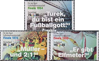 FRD (FR.Germany) 3380-3382 (complete.issue.) 2018 legendary football (Stamps for collectors) Soccer