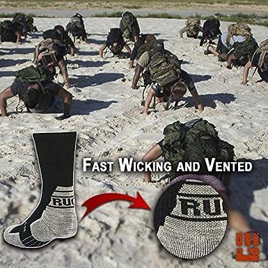 Military Work Boot MudGear Ruck Socks Tactical