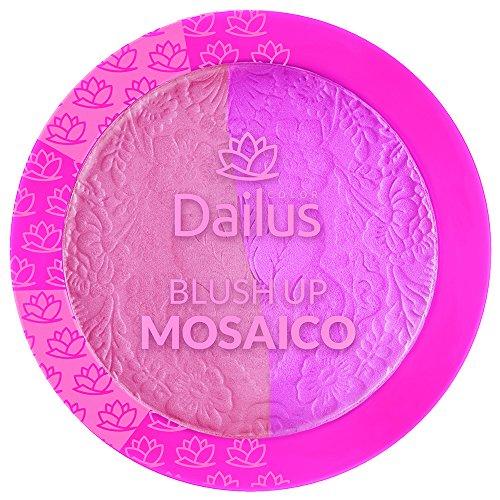 Blush Up Mosaico 06, Dailus, Rosa Claro e Rosa Pink