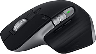 Logitech MX Master 3 Advanced Wireless Mouse, Bluetooth or 2.4GHz USB Receiver, Ultrafast Scrolling, 4000 DPI Any Surface ...