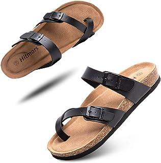 Sandale Homme Mode Léger Mules Femme Bout Ouvert Flip Flops Unisex Tongs Homme Été Plage Piscine Noir Bleu Marron Taille 3...