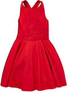 Polo Ralph Lauren Girl`s Crossback Cotton Satin Dress