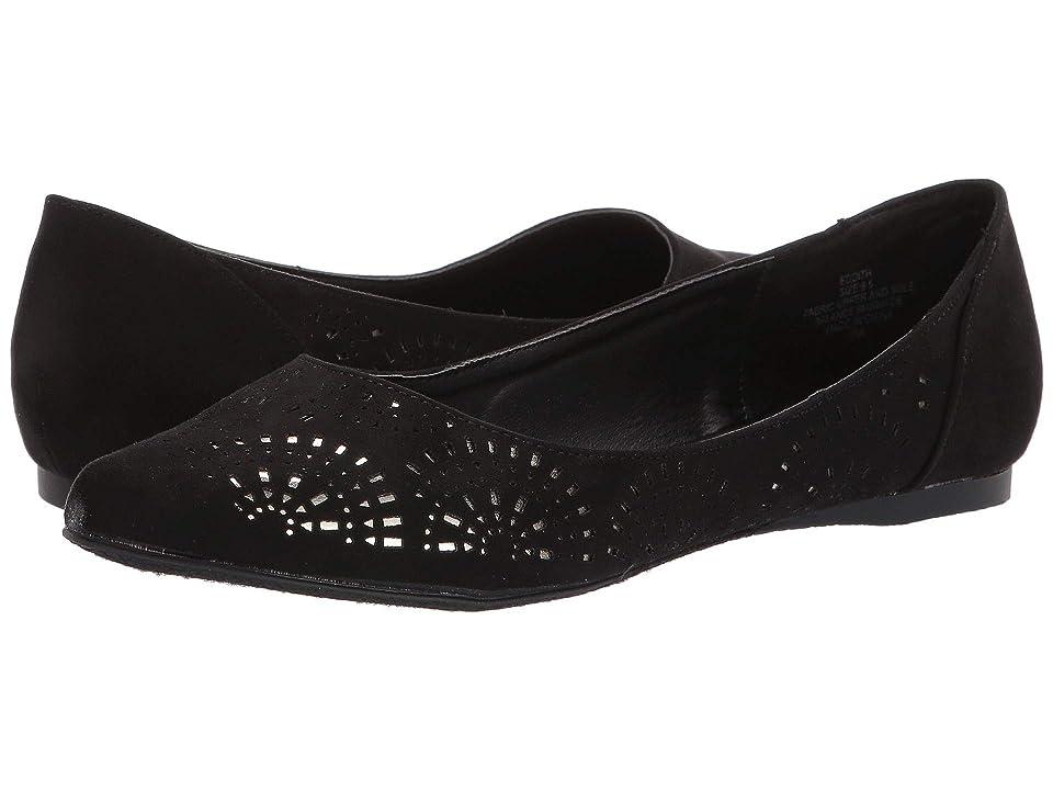 Madden Girl Eddith (Black Fabric) Women's Shoes