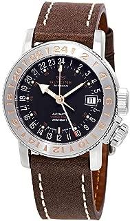Glycine Airman 18 GMT Automatic Black Dial Men's Watch GL0229