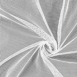 Fabulous Fabrics Tüll weiß, Uni, 300cm breit – zum