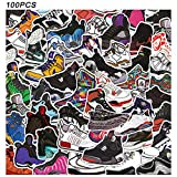 Basketball Stickers - CNCK 100 PCS Jorda_n Hypebeast Stickers Stylish Vinyl Stickers for Adults Teens Kids Luggage Car Laptop Skateboard Keyboard Personalize Decal Stickers