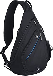 Pioneeryao Sling Bag Backpack 19'' Crossbody Backpack Shoulder Pack Sling Chest Bag