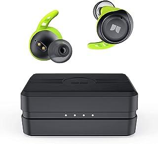 Monster Isport Champion True Auriculares inalámbricos, Bluetooth 5.0 con bajos profundos aptX, cancelación de ruido CVC 8....