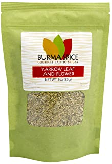 Sponsored Ad - Yarrow Leaf and Flower : Loose Herbal Tea : Pure Natural and No Additives : Kosher Certified (3oz.)