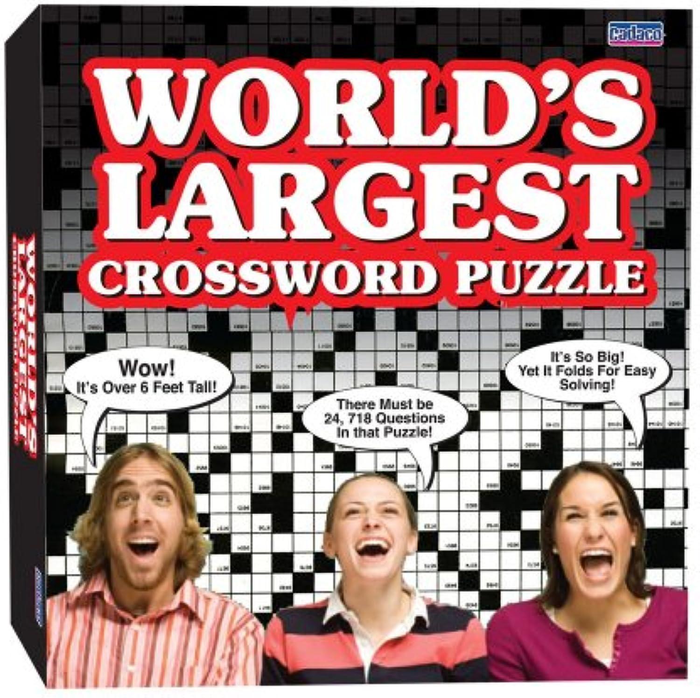 ahorra hasta un 70% IDEAL World's Largest Largest Largest Crossword Puzzle  barato en alta calidad