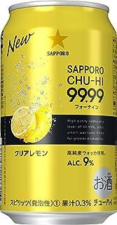 サッポロ 99.99 フォーナイン クリアレモン 350ml×24本 [ チューハイ ]