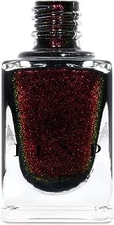 ILNP Lights Out - Rich Black Shimmer Nail Polish