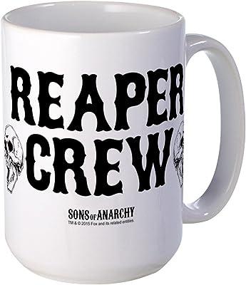 CafePress–SOA Reaper Crew–コーヒーマグ, Large 15オンスホワイトコーヒーカップ L ホワイト 16607518096893C