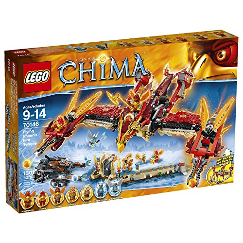 Lego Legends Of Chima - 70146 - Bau Game - The Temple Of The Phoenix Von Feuer