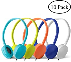 Best bulk headphones for schools Reviews