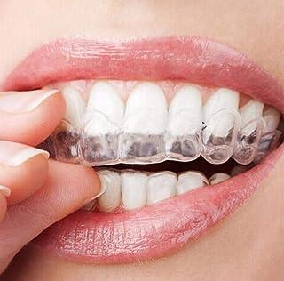 2ピース/ペア透明 Thermoform 成形可能な口の歯歯科用トレー歯ホワイトニングガードホワイトナー