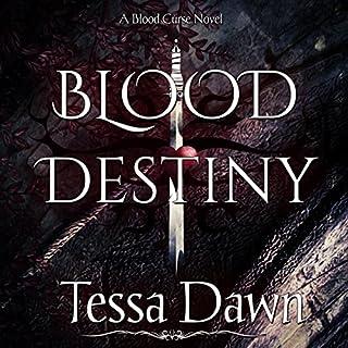 Blood Destiny: Blood Curse Series book 1 audiobook cover art