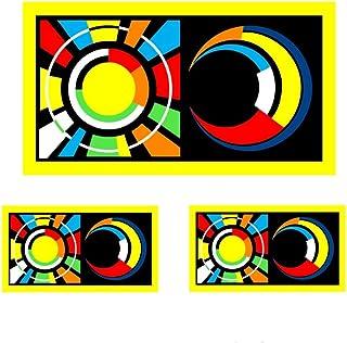 Rossi Pegatina Sol y Luna 2012 Vinilo Sticker