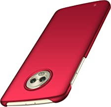 Anccer Moto G6 Case [Colorful Series] [Ultra-Thin] [Anti-Drop] Premium Material Slim Fit Cover for Moto G6 (Not Fit for Moto G6 Plus) - Red