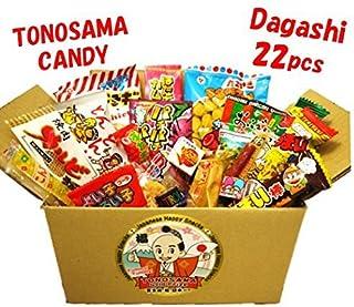 """Japanese candy assortment 22pcs , full of dagashi. """"TONOSAMA CANDY"""""""
