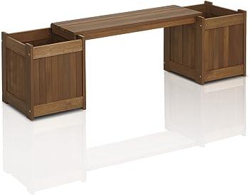 Furinno Tioman Patio Furniture Hardwood Planter Box