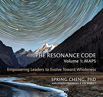 The Resonance Code: Empowering Leaders to Evolve Toward Wholeness (Volume 1: Maps, Black & White Edition)