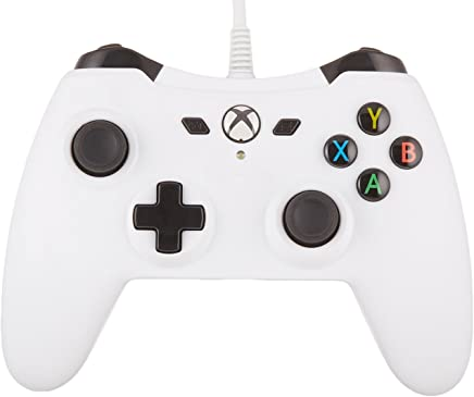 AmazonBasics Xbox One Wired Controller - White