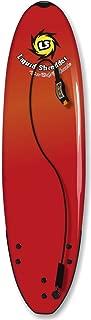 Liquid Shredder 7'5 Element Soft Surfboard-Red, Red