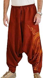 Amazon Es Pantalones Bombachos Hombre