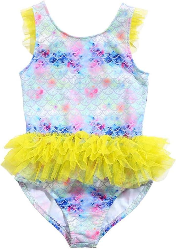 Industry No. 1 Children's Apparel One Piece Swimsuit Bargain sale Beach Mermaid Dress Tutu