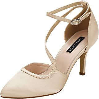 Best coral colored satin shoes Reviews