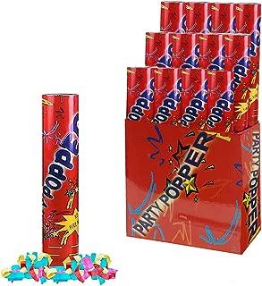 Party Popper - Confetti Cannon 11 Inch Air Compressed (1/pkg) Pkg/12