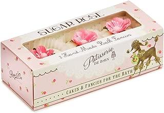 Patisserie de Bain Bath Fancies Sugared Rose 3pc Gift Set