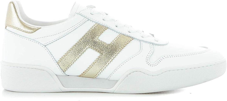 Hogan Woherrar HXW3570AC40IG4085 vit läder skor skor skor  bekväm