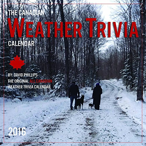 2016 Canadian Weather Trivia Calendar