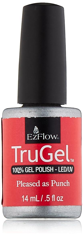 若いフラグラント所有者EzFlow トゥルージェル カラージェル EZ-42454 プリーズアズパンチ 14ml