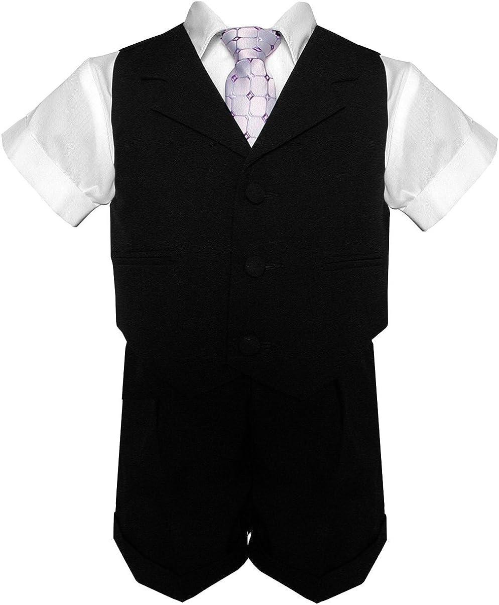 Gino Giovanni Little Boys Toddler Vest Suit Summer High order Set Tucson Mall Short