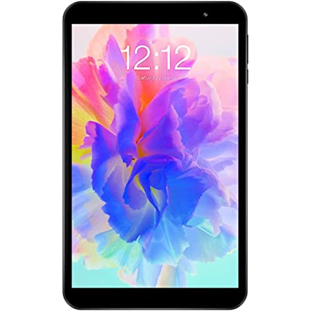 TECLAST Android Tablet 8 inch 1.6GHz Quad Core Processor, Android 10 Tablet, 2GB RAM 32GB ROM Tablet, 1280x800 HD IPS Display, 2.4G+5G WiFi Bluetooth 5.0 Type-C GPS TF Expansion 2MP Rear Camera
