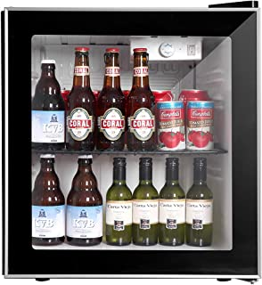 mini fridge glass door home depot