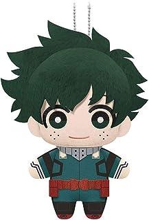 """Little Buddy 1695 My Hero Academia Izuku Midoriya Plush Dangler, 6"""", Multicolor"""