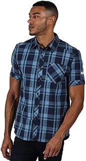 Regatta Men's Deakin Iii' Coolweave Cotton Short Sleeve Checked Shirts