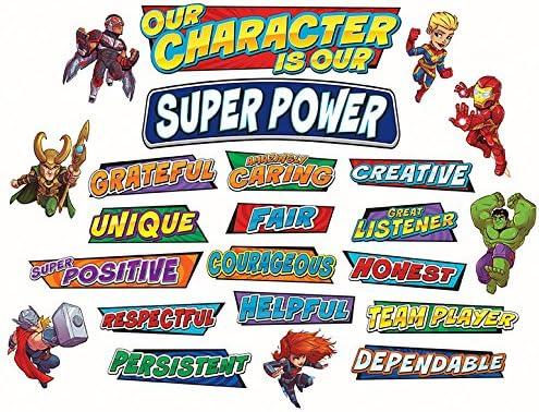 2021 new Eureka Back to School Marvel Character' Adventure 'Our Selling Superhero