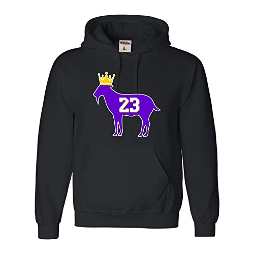 5565d879e5a8 Adult Goat James G.O.A.T. King Sweatshirt Hoodie
