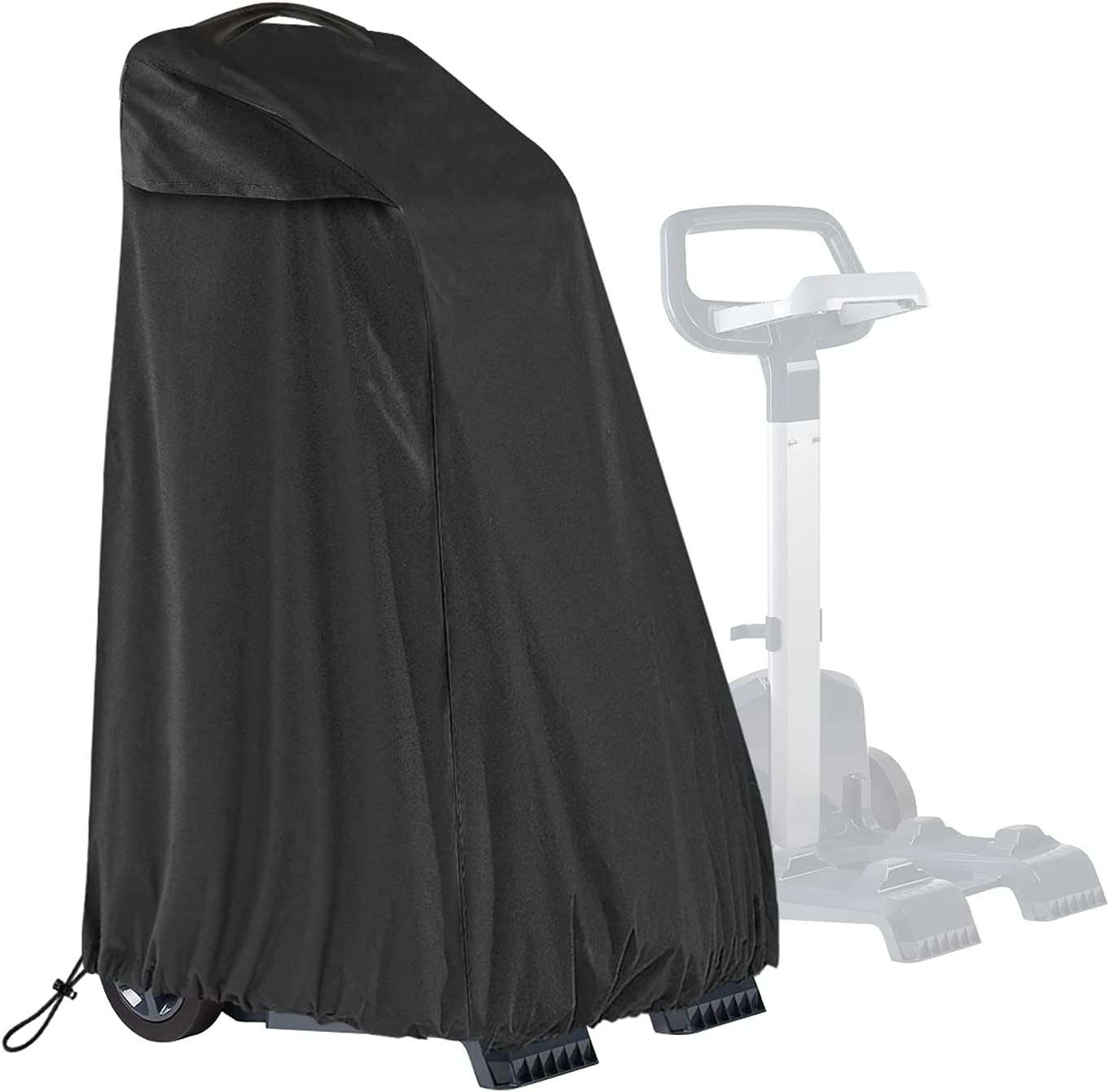 SELUGOVE Caddy Cover,Black Thick Fabric(Sunray/dust/Wind/Weather/rip Resistant) Robotic Pool Cleaner Cover
