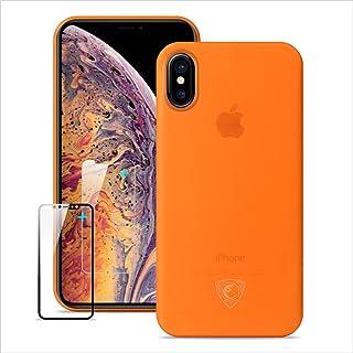 coque iphone xr orange appel