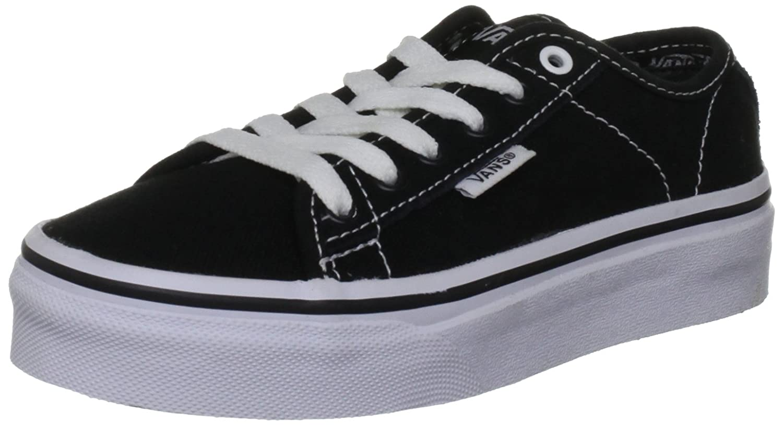 Vans Ferris子供靴UK 10?(JNR) ブラックホワイトホワイト